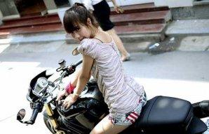 Girl Biker