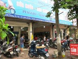 Cửa hàng HOA ĐÀ PIAGGIO VESPA